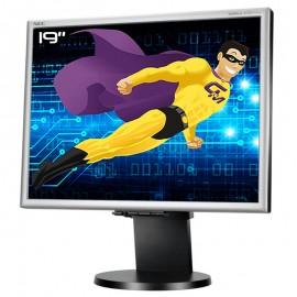 "Ecran PC Pro 19"" NEC MultiSync LCD1970NXp BK LCD TFT MVA VGA DVI Audio VESA 5:4"