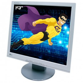 """Ecran PC Pro 19"""" LG FLATRON L1915SN-ANEUER LCD TFT TN VGA DVI VESA 1280x1024 5:4"""