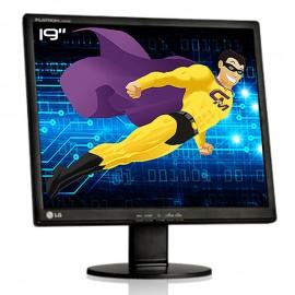 """Ecran PC Pro 19"""" LG FLATRON L1942T-BFT.AEUSQVN LCD TFT TN VGA DVI VESA 1280x1024"""