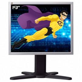 "Ecran PC Pro 19"" VIEWSONIC VP930-3 VS10725 LCD TFT MVA 2x VGA DVI VESA 5:4 48cm"