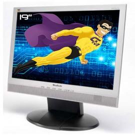 "Ecran PC Pro 19"" VIEWSONIC VA912 VS10867 LCD TFT MVA VGA DVI Audio VESA 5:4 48cm"