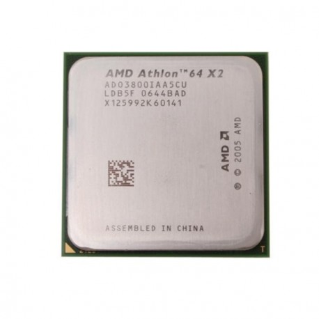 Processeur CPU AMD Athlon 64 X2 3800+ 2GHz 2x 512Ko L2 ADO3800IAA5CU Socket AM2