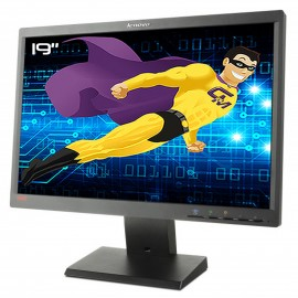 "Ecran PC Pro 19"" LENOVO LT1952pwD 03X7911 LCD TFT VGA DVI DisplayPort VESA Wide"