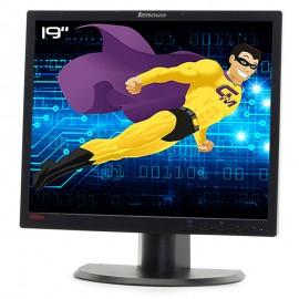 """Ecran PC Pro 19"""" LENOVO ThinkVision L1900pA 45J8708 LCD TFT VGA DVI VESA 5:4"""