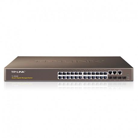 Switch Rack 24 Ports TP-LINK TL-SG5426 10/100/1000 4x GIGABIT SFP Fast Ethernet