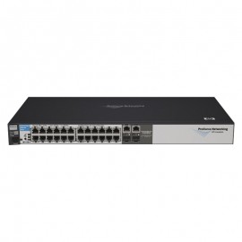 Switch Rack 24+2 Ports RJ-45 HP J9019B 10/100/1000Mbps 2x GBIC SFP GIGABIT
