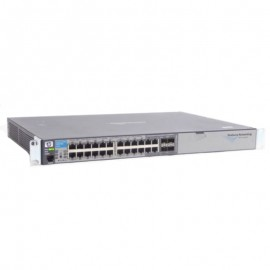 Switch Rack 24 Ports RJ45 HP J9021A 10/100/1000Mbps 4x GIGABIT SFP Fast Ethernet
