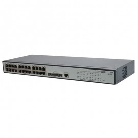Switch Rack 24 Ports RJ45 HP JE006A 10/100/1000Mbps 4x GIGABIT SFP Fast Ethernet