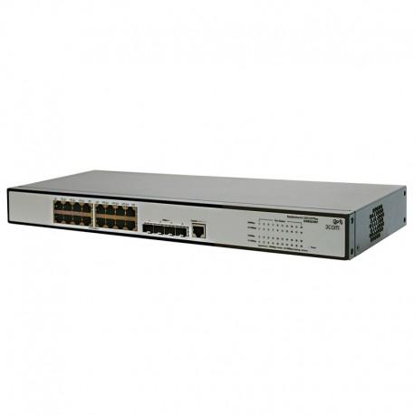 Switch Rack 16 Ports RJ45 HP JE005A 10/100/1000Mbps 4x GIGABIT SFP Fast Ethernet