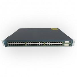 Switch Rack 48 Ports 10/100 Cisco 3500 XL WS-C3548-XL-EN Catalyst Series