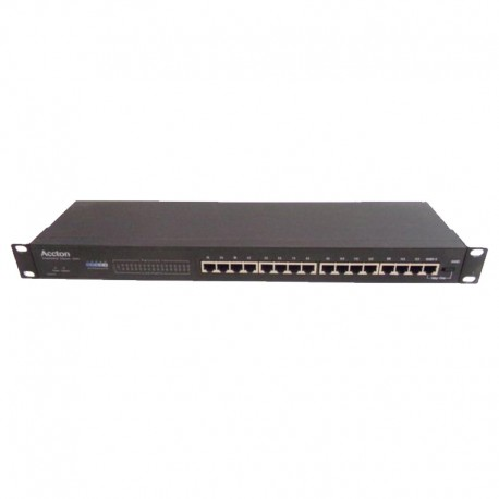 Switch Rack 16 Ports RJ-45 Accton EH2041S 10/100Mbps Ethernet 10Base-T 1x BNC
