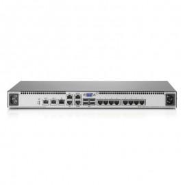 Switch KVM IP Console 8 Ports RJ45 HP AF620A 578714-001 4x USB VGA Rack