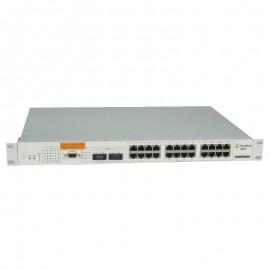 Switch Rack 24 Ports RJ45 Alcatel Omnistack 4024 10/100Mbps BaseTX Fast Ethernet