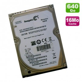 "Disque Dur PC Portable 640Go SATA 2.5"" Seagate Momentus ST9640423AS 5400RPM 16Mo"