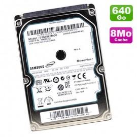 "Disque Dur PC Portable 640Go SATA 2.5"" Seagate Momentus ST640LM000 5400RPM 8Mo"