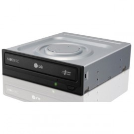 Graveur DVD Interne LG GH24NSB0 Super Multi DL SATA - CD-R/RW DVD±R/RW DL - Noir