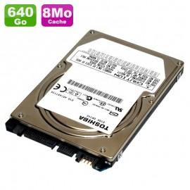 "Disque Dur 640Go SATA 2.5"" Toshiba MK6461GSY HDD2E81 7200RPM Pc Portable 8Mo"