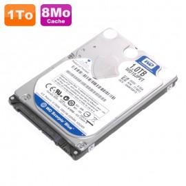 "Disque Dur 1To SATA 2.5"" Western Digital Scorpio Blue WD10JPVT 5400 Pc Portable"
