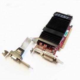 Carte Graphique MSI ATI R4350-MD512D3H/LP 512Mo PCI-e HDMI DVI VGA Low Profile
