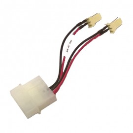 Câble Molex 2x 3-Pin BizLink 25/08 6932060000 9cm Connectique