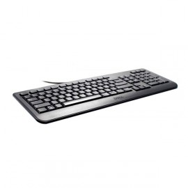 Clavier DELL Slim USB Azerty Noir KB2521 104 Touches (0J5TRP) Pc Professionnel