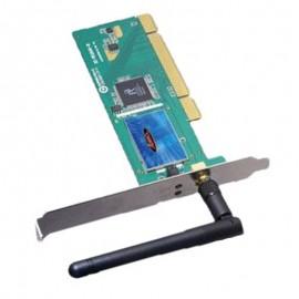 Carte Réseau Wifi 11N PCI Advance WL-PCI11N 802.11G 54Mbps Carbus Lan Adaptateur