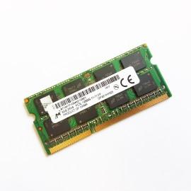 8Go RAM PC Portable SODIMM MICRON MT16KTF1G64HZ-1G6E1 PC3L-12800S 1600MHz DDR3