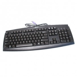 Clavier Azerty Noir PS/2 ACER SK-1688 KB-6880B-045-PB PC Keyboard 104 Touches