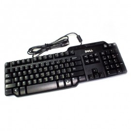 Clavier PC Azerty USB Dell SK-3205 KW240 NY559 KW218 104 Touches Lecteur Carte