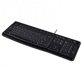 Clavier Azerty Noir USB Logitech K120 Y-U0009 PC Keyboard 104 Touches