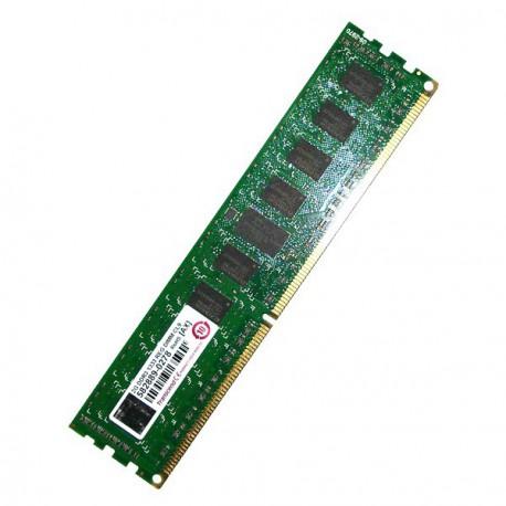 RAM Serveur DDR3-1333 Transcend PC3-10600 2GB Registered ECC CL9 TS256MKR72V3U