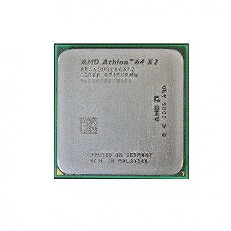 Processeur CPU AMD Athlon 64 X2 6000+ 3GHz 2x 1Mo L2 ADA6000IAA6CZ Socket AM2