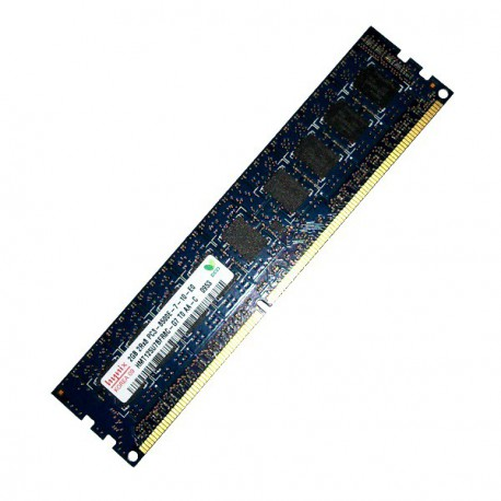 RAM Serveur DDR3-1066 Hynix PC3-8500E 2GB Unbuffered ECC CL7 HMT125U7BFR8C-G7