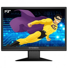 "Ecran PC Pro 19"" HYUNDAI X93W LCD TFT TN A-Si VGA Audio IN VESA 1440x900 Wide"