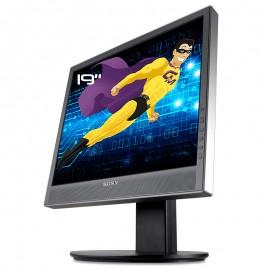 """Ecran PC Pro 19"""" SONY SDM-X95K LCD TFT VGA DVI 2x USB 2xAudio VESA 1280x1024 5:4"""