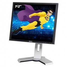 """Ecran Plat PC 19"""" DELL 1908FPc 0G439H LCD TFT VGA DVI 4xUSB-A 1xUSB-B 1280x1024"""