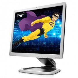 "Ecran Plat PC 19"" HP LA1951g 577110-001 LCD TFT TN VGA DVI 2x USB 1280x1024 5:4"