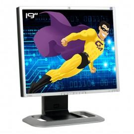"""Ecran Plat PC 19"""" HP LP1965 HSTND-2191-L 418598-002 LCD TFT 2x DVI 2x USB 5:4"""