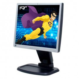 "Ecran Plat PC 19"" HP L1940T HSTND-2802 406013-112 LCD TFT VGA DVI 2xUSB 5:4 48cm"