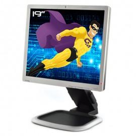 """Ecran Plat PC 19"""" HP L1950g HSTND-2341-B KR145A LCD TFT TN VGA DVI 2xUSB 5:4"""