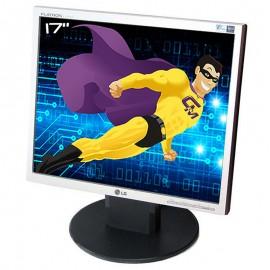 """Ecran Plat PC 17"""" LG Flatron L1750SQ L17NS-7 LCD TFT TN VGA VESA 1280x1024 5:4"""