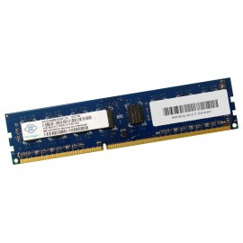 4Go RAM PC Bureau NANYA NT4GC64B8HG0NF-CG DIMM DDR3 PC3-10600U 1333Mhz 2Rx8 CL9