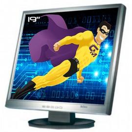 """Ecran PC Pro 19"""" Belinea 1930 S1 BJ10001 LCD TFT TN VGA DVI Audio 1280x1024 VESA"""
