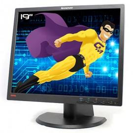 """Ecran PC Pro 19"""" LENOVO ThinkVision L193p 4431-HB2 43R1936 LCD TFT VGA DVI VESA"""