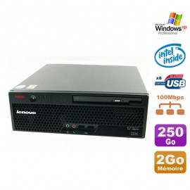 PC IBM Lenovo Thinkcentre M55 8795-B3G uSFF Pentium D 3.00Ghz 2Go 250Go XP Pro