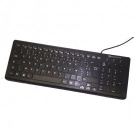 Clavier Azerty Noir USB Packard Bell OM-130006P/K DKUSB1K026 Keyboard 104Touches