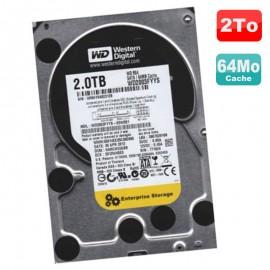 "Disque Dur 2To SATA II 3.5"" WD RE4 Enterprise Storage WD2003FYYS-02W0B1 7200RPM"