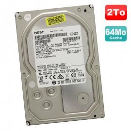 "Disque Dur 2To SATA III 3.5"" HGST HUS724020ALA640 0F14690 MPKA70 7200RPM 64Mo"