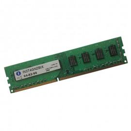 4Go RAM INTEGRAL IN3T4GNZBIX 240-Pin DIMM DDR3 PC3-10600U 1333Mhz 240-Pin2Rx8
