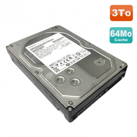 "Disque Dur 3To SATA III 3.5"" HITACHI HDS723030ALA640 7200RPM 6Gb/s 64Mo"